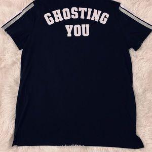 🎃Pink Victoria secret Halloween shirt 🎃